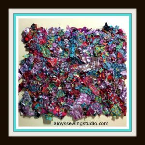Batik Fabric Scraps: DIY Custom Fabric Pieces