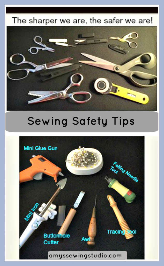 Sewing Safety Tips 2