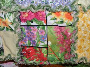 Chenille Quilt Close-up