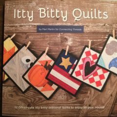 Best Book for Easy Miniature Quilt Block Patterns-'Itty Bitty Quilts' Book