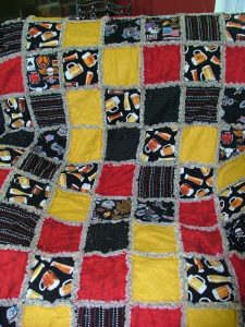 Men's Quilt with Chenille