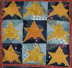 Stars Paper Piecing Quilt