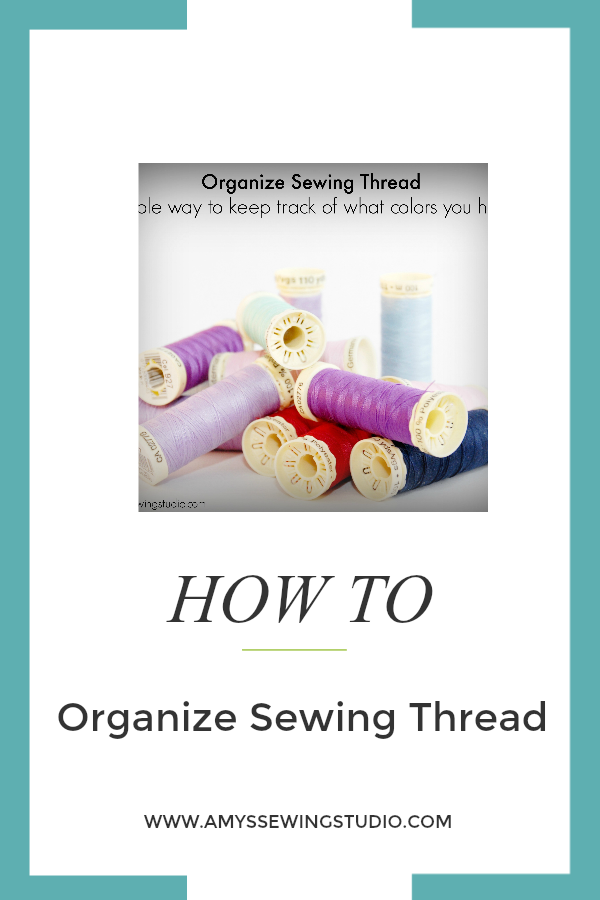 Organize SewingThread 3