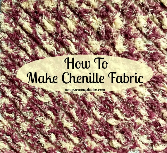 Make Chenille Fabric