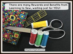 Benefits From Learning To Sew