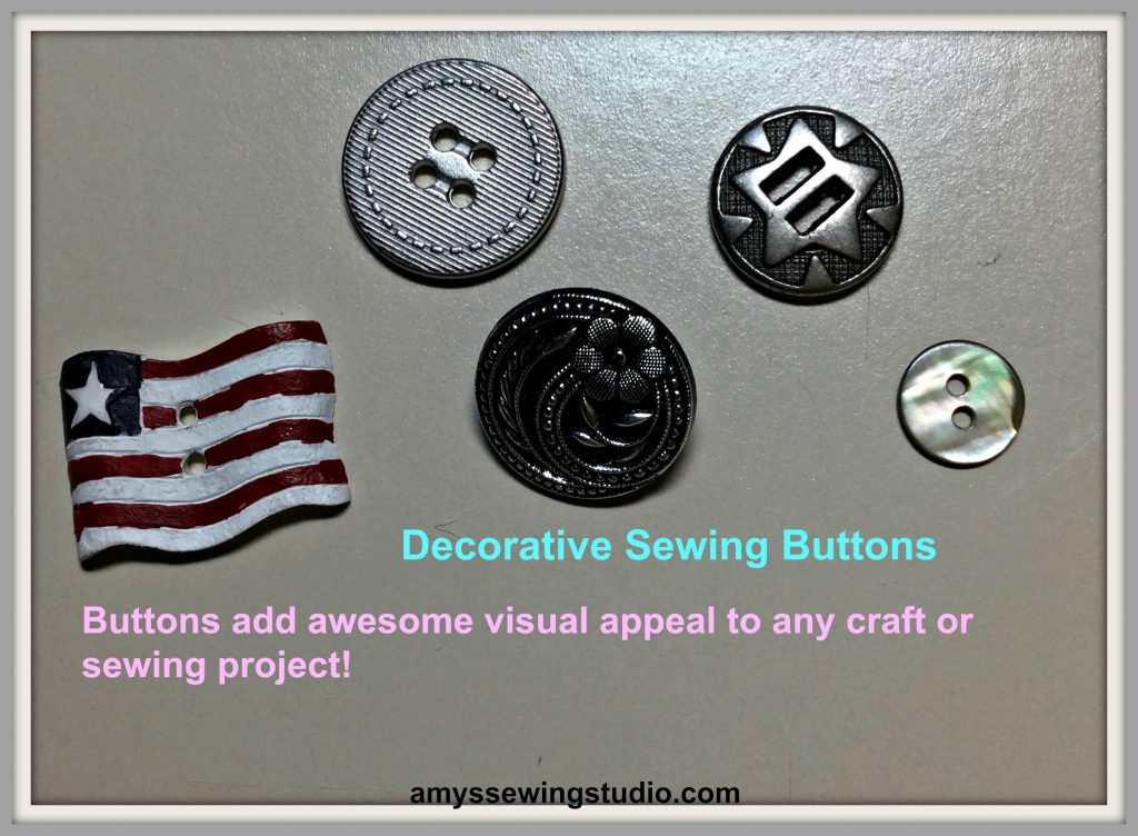 DecorativeSewingButtons