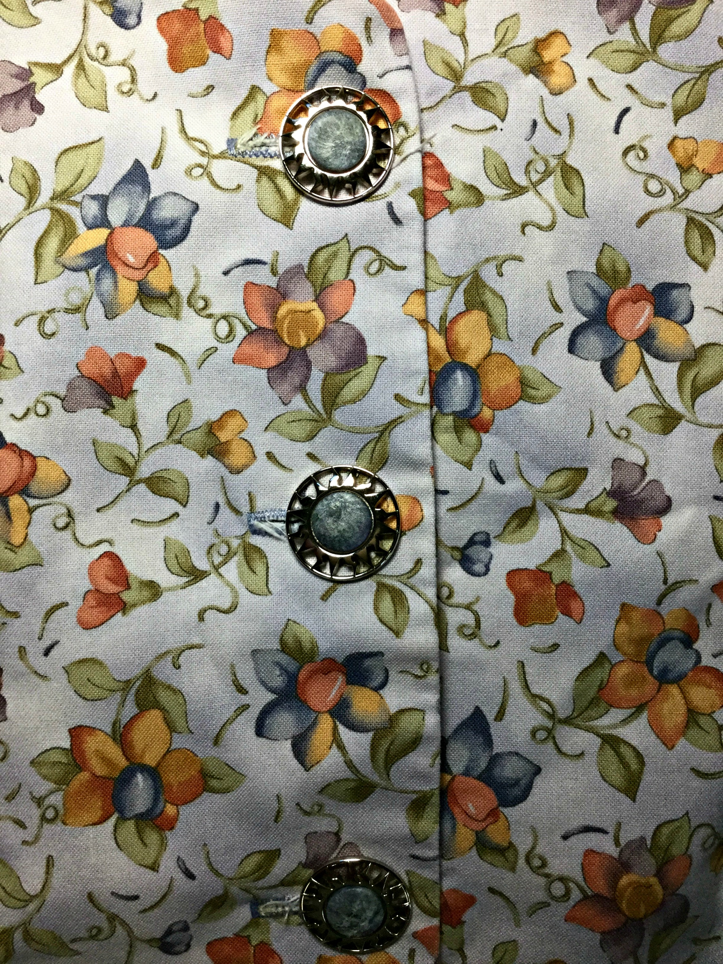 Ways To Use Buttons. Find buttons that compliment with the theme of your fabric.