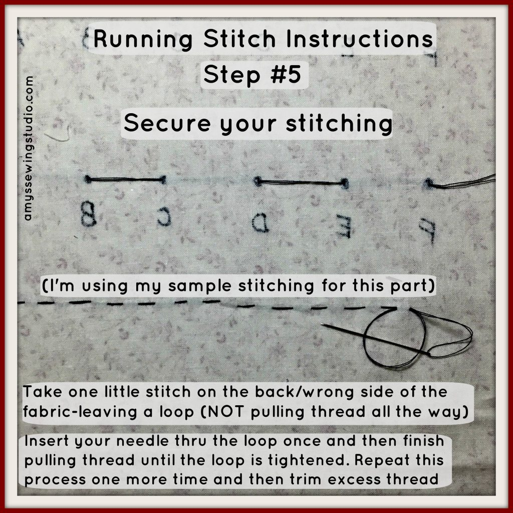 running stitch instructions#5