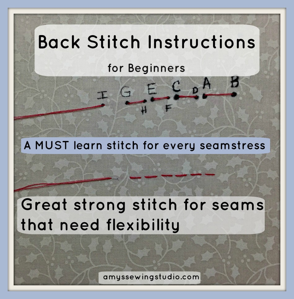 Back Stitch Instructions1