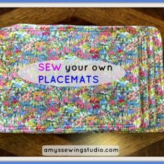 Easy Sew Placemats Beginners