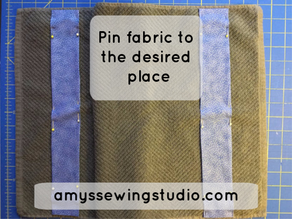 Embellish Towels with Fabric Trim! Check out this SIMPLE tutorial for beginners.