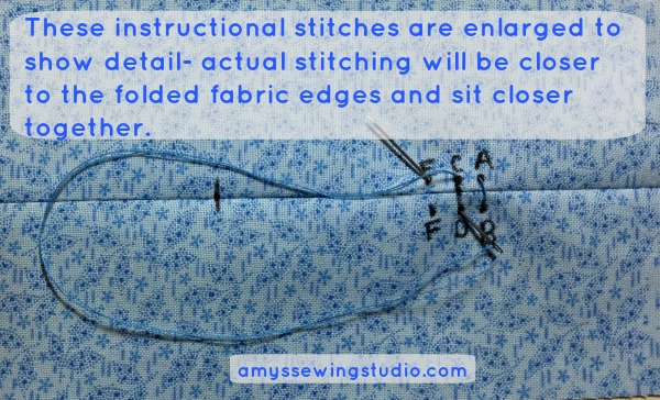Learn this SIMPLE and basic beginner sewing stitch. Step by Step instructions and PICTURES to learn how to sew the whip stitch.