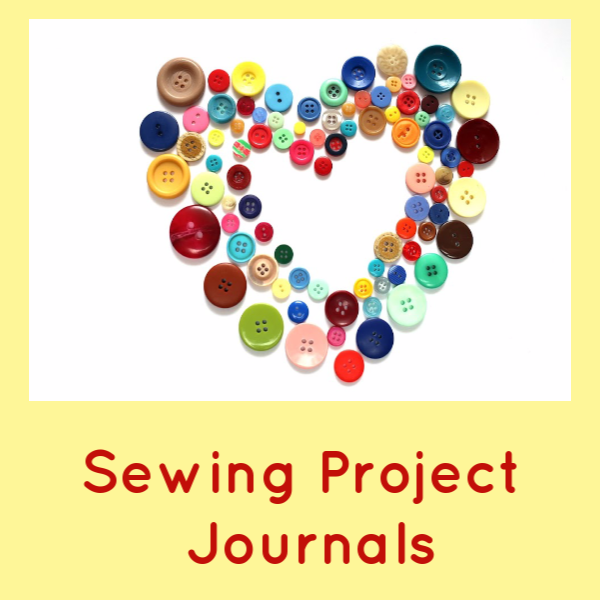 Sewing Project Journals- Keep track of the various details of your Sewing Adventures! 1)Make a Sewing Memories Journal-Pictures and Details of your finished projects. 2)Projects you want to do, or are in progress 3)Measurements Journal. These are a few examples of how you can use Sewing Journals in your sewing room!