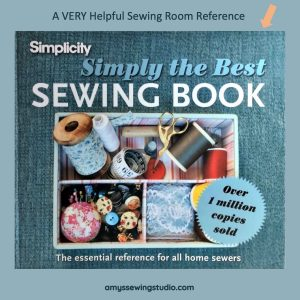 Best Sewing Book for Beginners. This is my book review of this very HELPFUL sewing reference book! Click this PIN to READ MORE...