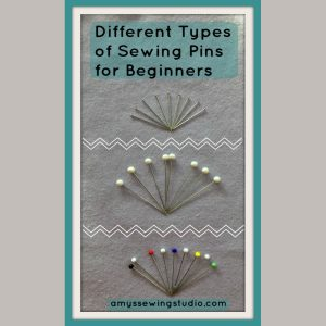 Different Types of Sewing Pins Beginners. Learn which pins work best with cotton fabrics.