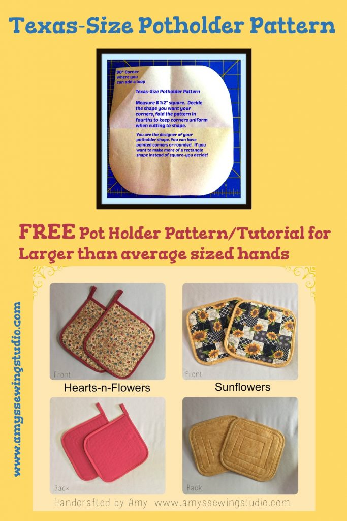 How to Make Quilted Potholders with insulated batting. Make the best homemade potholders using this sewing tutorial for beginners.