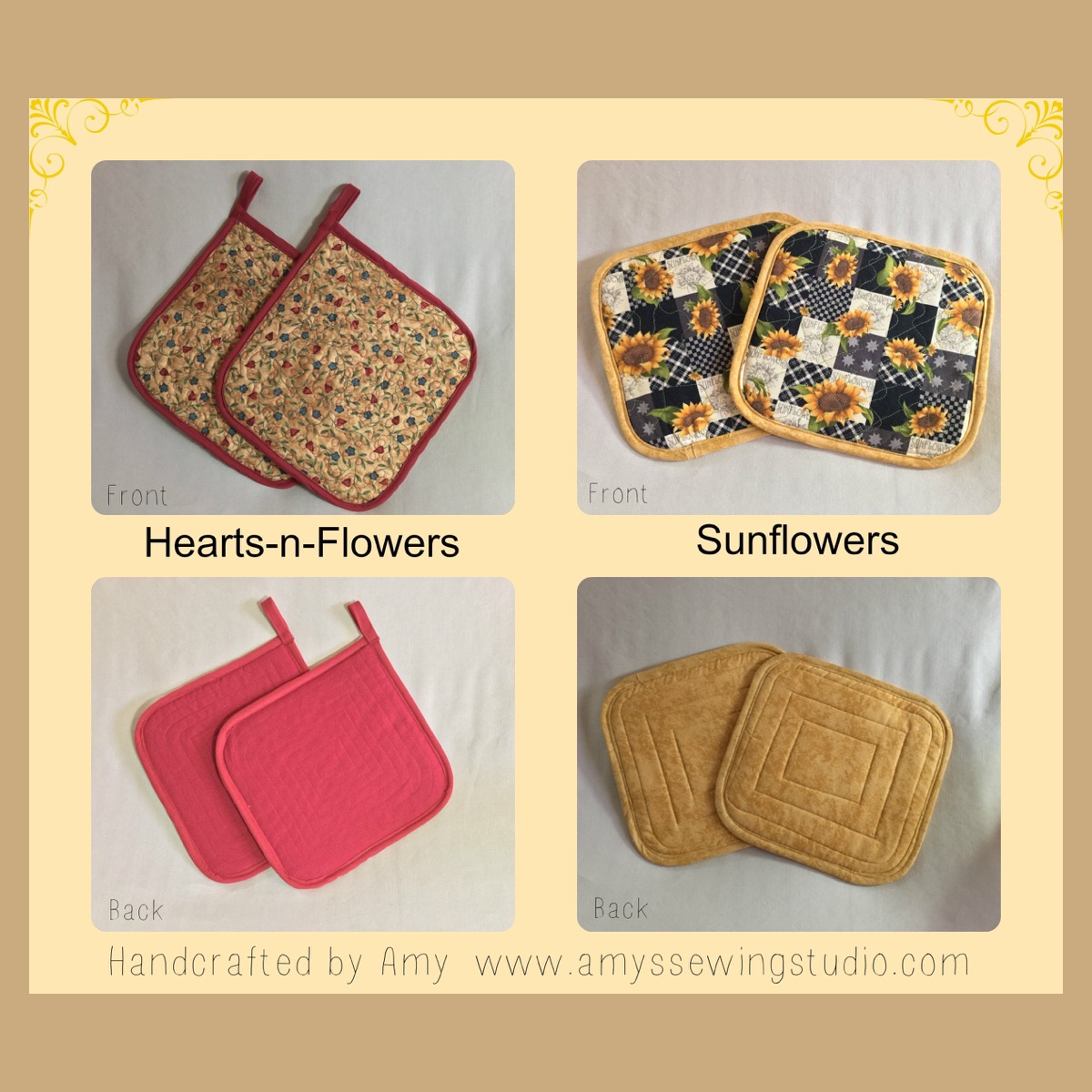 How To Make Quilted Potholders To Fit The Larger Than Average Size Hand