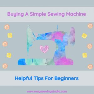 Tips For Buying A Simple Sewing Machine for Beginners. Get some great tips to help you purchase a sewing machine with confidence! Click the picture NOW to read more!
