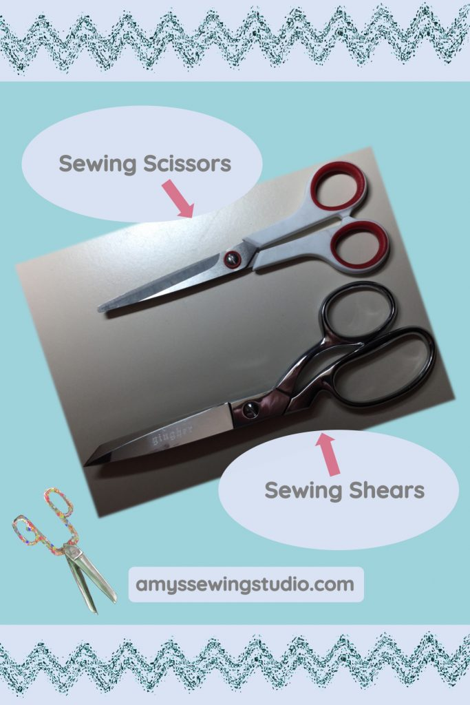 Gingher Sewing Scissors vs. Shears