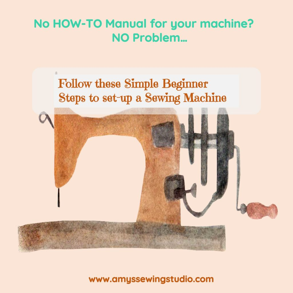 Wanting to start sewing with your machine but not sure where to start? Follow these steps to help you get your machine set up and ready for sewing a simple project.