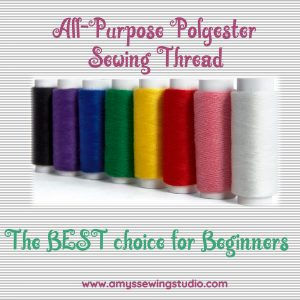 Polyester all-purpose sewing thread is the best to use for everyday sewing projects; hand sewn or with a machine.Polyester thread is a great all purpose thread for sewing beginners.