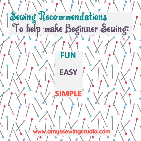 Learning to Sew can be challenging, but with GREAT tutorials, step by step help and Sewing Recommendations- You can Learn to Sew! Check out Amys Sewing Studio! A great site geared towards keeping sewing SIMPLE for the Beginner! Click here to EXPLORE and LEARN!